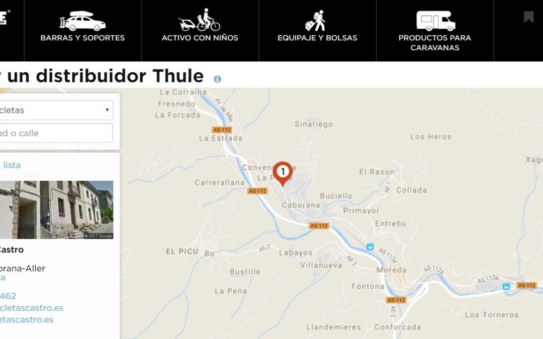 Bicicletas Castro. Tienda oficial Thule